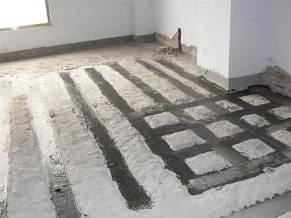 如何填充混凝土建筑出现的裂缝?