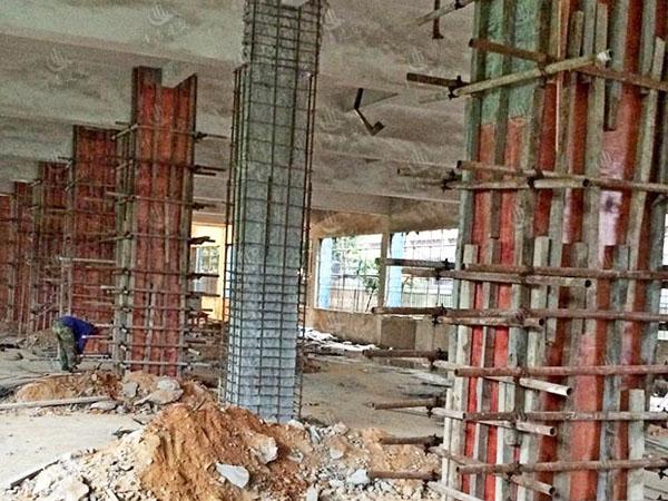 房屋中易倒塌的部分可选择的加固方法
